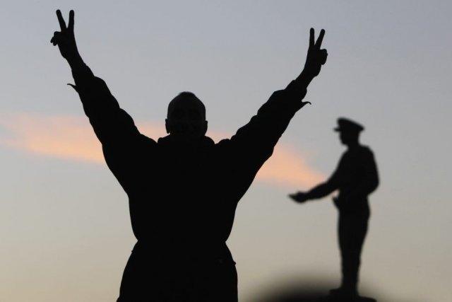 Trois ans après le soulèvement de la place Tahrir en Égypte, il peut être... (Photo Reuters)
