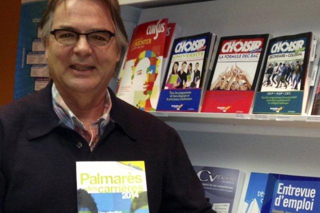 Martin Rochette, éditeur du Palmarès des carrières 2014,... (Photo fournie par septembre éditeur)