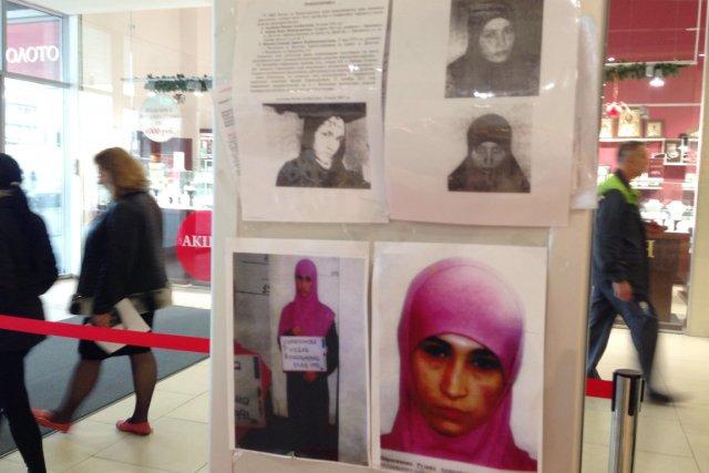 Les autorités russes ont attribué à des veuves... (PHOTO NINA ZOTINA, AFP)