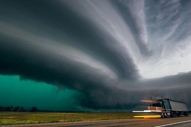 La Tornado Alley (allée des tornades) est le nom donné depuis 1952 à... (PHOTO MIKE HOLLINGSHEAD)