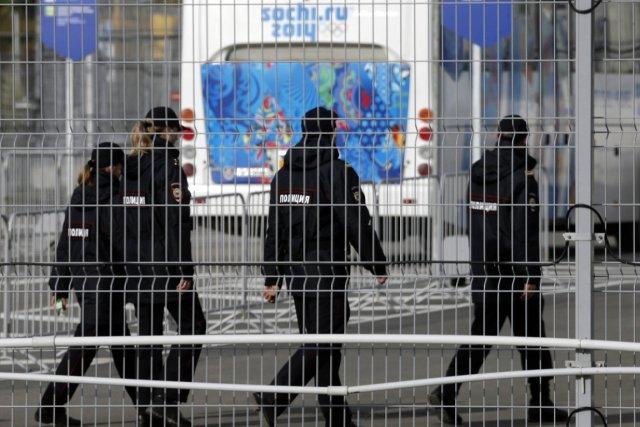 Des agents de sécurité patrouillent dans le parc... (Photo Alexander Demianchuk, Reuters)