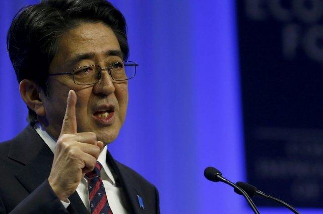 ShinzoAbe a appelé à la «complète transparence» des... (PHOTO DENIS BALIBOUSE, REUTERS)