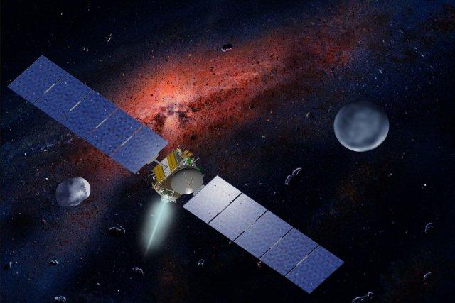 Avec l'astéroïde Vesta, autre grand corps de la... (Photo Archives AP)