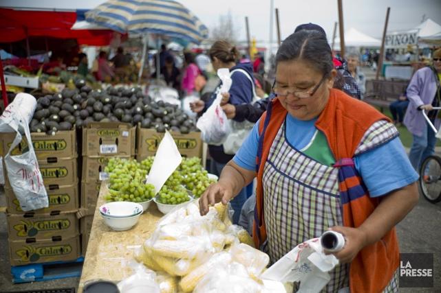 Au marché au puces Mile High Flea Market,... (Photo David Boily, La Presse)