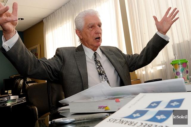Selon Guy Bertrand, «la grande majorité des avocats... (Le Soleil, Erick Labbé)