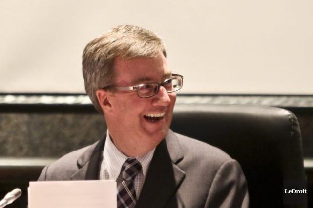 Le maire d'Ottawa Jim Watson.... (Patrick Woodbury, archives LeDroit)