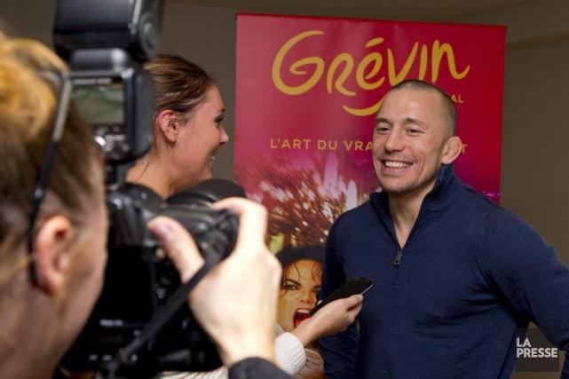 Le champion du monde de l'UFC, Georges St-Pierre,... (Photo: Alain Roberge, La Presse)