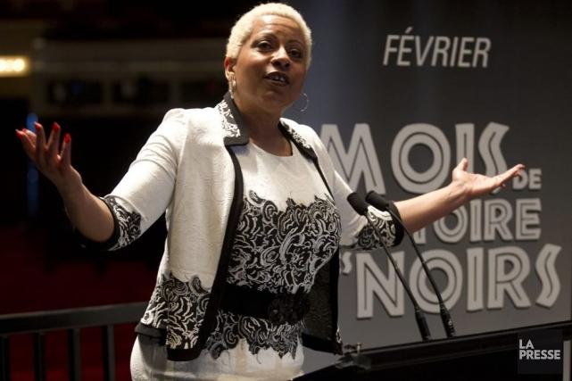 La blueswoman Kim Richardson est l'une des porte-parole... (Photo: Olivier Jean, La Presse)