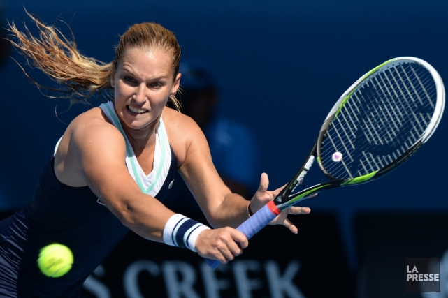 La Slovaque Dominika Cibulkova.... (Photo Mal Fairclough, AFP)