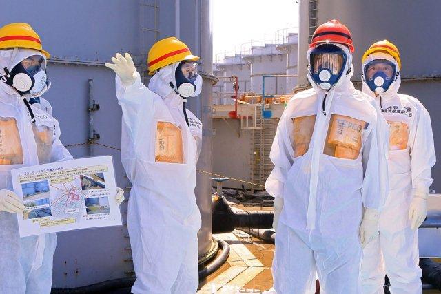 Le complexe atomique Fukushima Daiichi a été ravagé... (PHOTO ARCHIVES REUTERS)