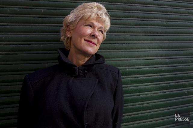 La romancière Dominique Demers raconte dans son nouveau... (Photo: Olivier Jean, La Presse)