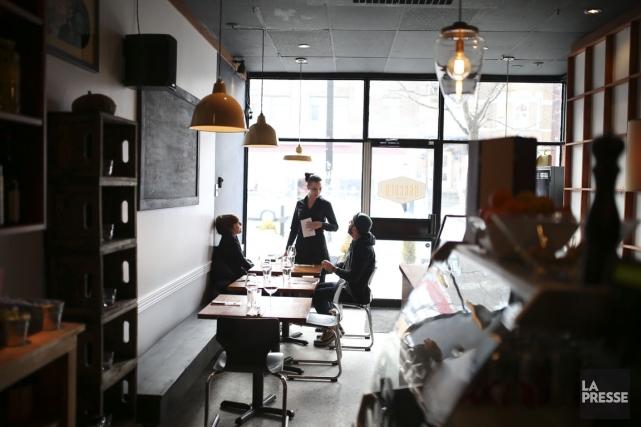 Montréal compte des dizaines de restaurants italiens. Entre... (Photo Martin Chamberland, La Presse)