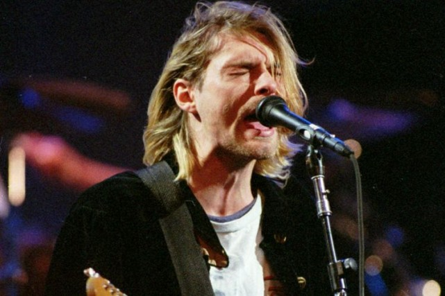 Kurt Cobain... (Photo: archives AP)