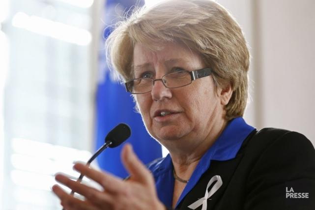 Agnès Maltais... (Photo Archives La Presse)
