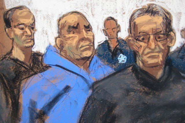 De gauche à droite: Jack Bonventre, John Ragano... (Photo Jane Rosenberg, Reuters)