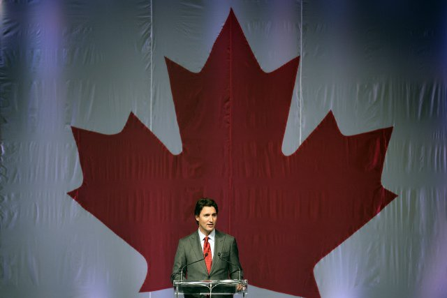 Justin Trudeau, chef du Parti libéral du Canada.... (Photo Aaron Harris, archives Reuters)