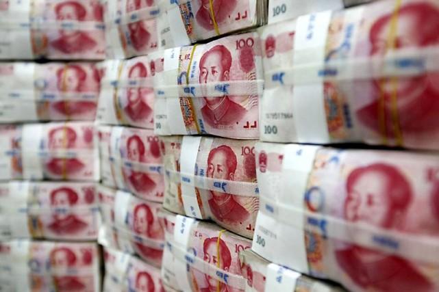 Pékin a annoncé lundi que l'économie chinoise avait... (Photo Archives Reuters)