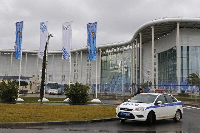 Le parc olympique de Sotchi, où sont regroupés... (Photo Alexander Demianchuk, Reuters)