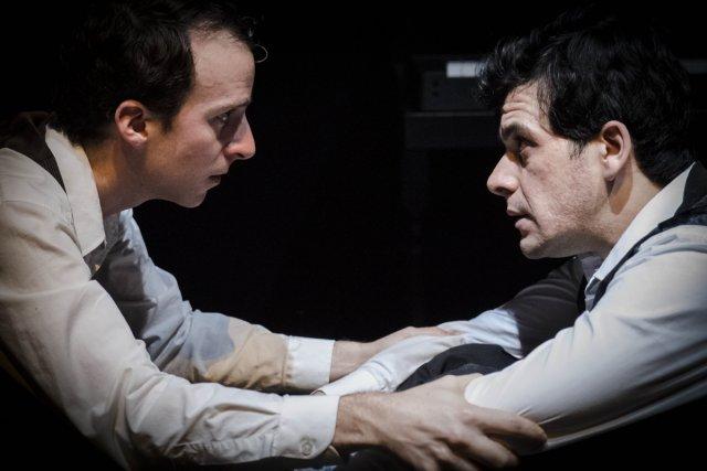 L'interprète de Novecento (Simon Dépot, à droite) a... (Photo: fournie par la production)
