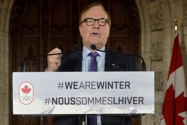 Le président du comité olympique canadien, Marcel Aubut,... (Photo Adrian Wyld, PC)