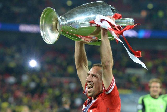 Franck Ribéry et le Bayern Munich ont remporté... (Photo Patrik Stollarz, AFP)