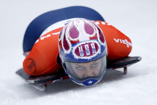 Noelle Pikus-Pace... (Photo Matthias Schrader, AP)