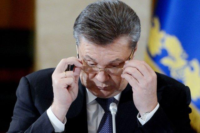 Le président ukrainien Viktor Ianoukovitch.... (PHOTO ANDREW KRAVCHENKO, AFP)