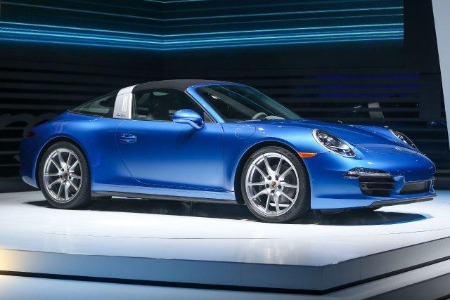 La nouvelle Porsche 911 Targa 2014... (Photo Geoff Robins, AFP)