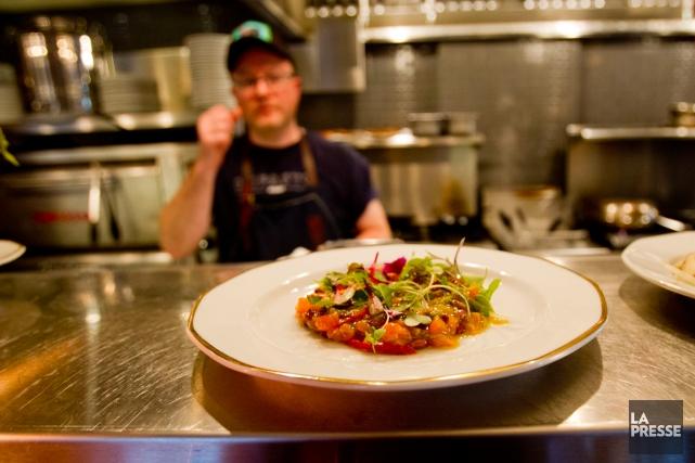 Un plat qui sort de la cuisine chezImpasto.... (PHOTO OLIVIER JEAN, LA PRESSE)