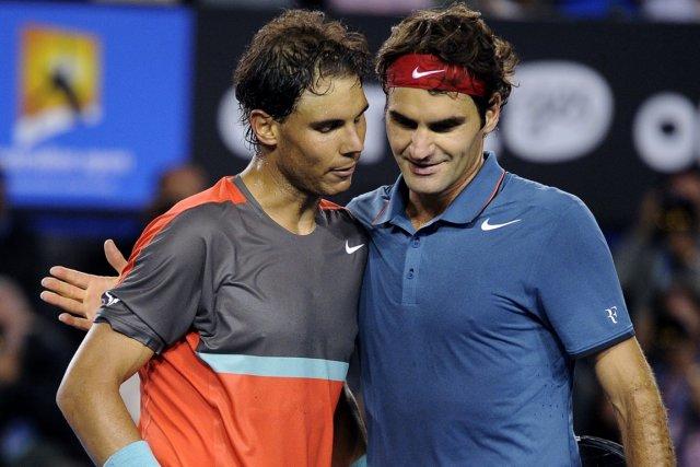 Rafael Nadal a défait Roger Federer en trois... (Photo Andrew Brownbill, AP)