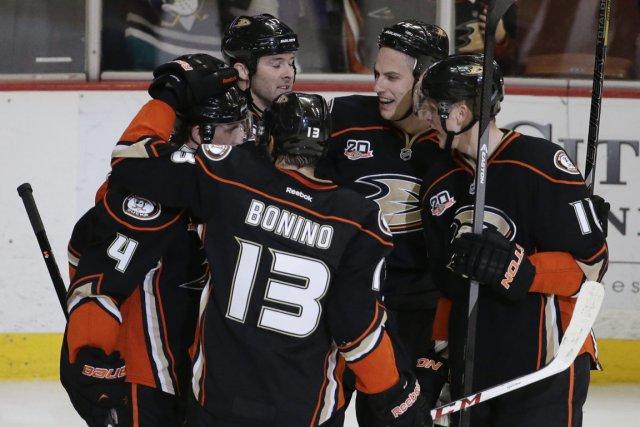 Les Ducks d'Anaheim ont remporté 10 de leurs... (Photo Chris Carlson, AP)