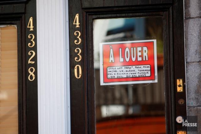 Les estimations moyennes d'augmentation des loyers dévoilées vendredi par la... (PHOTO MARTIN CHAMBERLAND, ARCHIVES LA PRESSE)