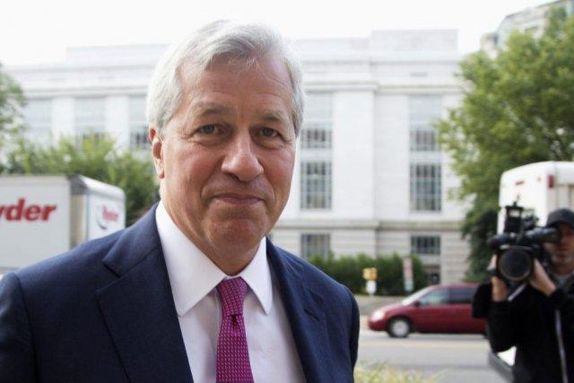 Jamie Dimon, leprésident et chef de la direction... (PHOTO ASSOCIATED PRESS)