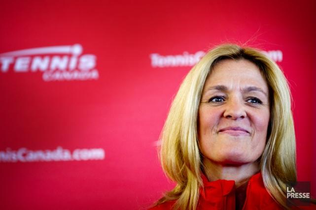 La nouvelle présidente et directrice exécutive de Tennis... (Photo Marco Campanozzi, La Presse)