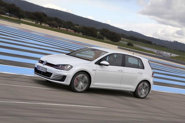 La Volkswagen GTI dernière mouture... (Photo fournie par Volkswagen)