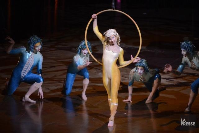 Le repositionnement du Cirque du Soleil se poursuivra... (Photo Bernard Brault, Archives La Presse)