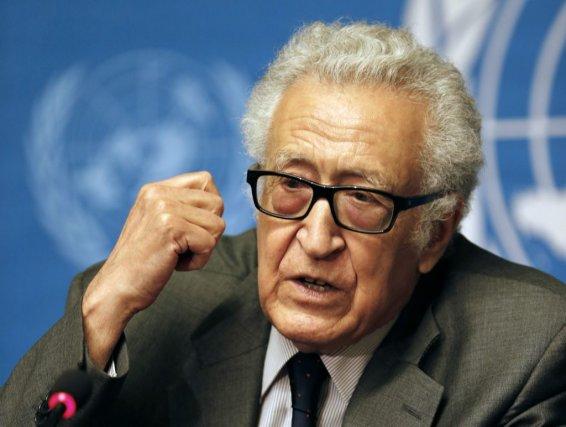 Le médiateur de l'ONU et de la Ligue... (Photo JAMAL SAIDI, Reuters)