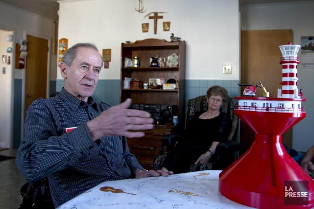 Charles-Hector Fraser, beau-frère de Colette Lachance qui a... (Photo Alain Roberge, La Presse)