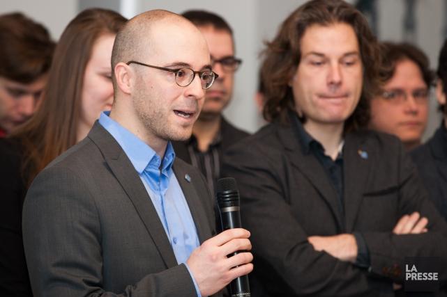 Sol Zanetti, lenouveau chefd'Option nationale.... (PHOTO NINON PEDNAULT, LA PRESSE)