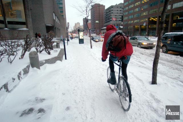 Pour la première fois, Vélo Québec, en partenariat avec ENvironnement JEUnesse,... (PHOTO PATRICK SANSFAÇON, LA PRESSE)