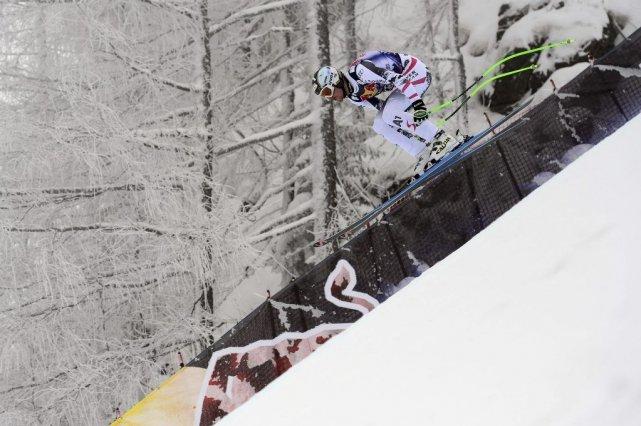 Souffrant de maux dorsaux récurrents,Hannes Reichelt n'avait décidé... (Photo Olivier Morin, AFP)