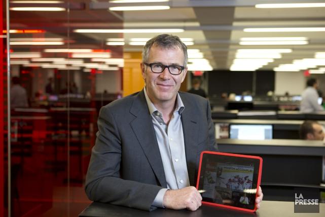 Guy Crevier, le président et éditeur de La... (PHOTO ALAIN ROBERGE, ARCHIVES LA PRESSE)