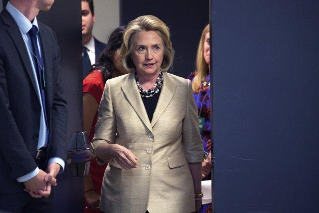 Tout semble se dessiner pour que l'ex-première dame... (Photo Doug Mills, The New York Times)