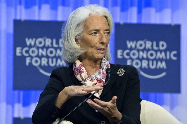 La directrice générale du FMI, Christine Lagarde.... (PHOOT MICHEL EULER, AP)