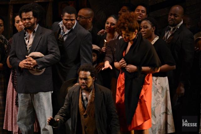 Double première àl'Opéra de Montréal, alors que c'est... (Photo Bernard Brault, La Presse)
