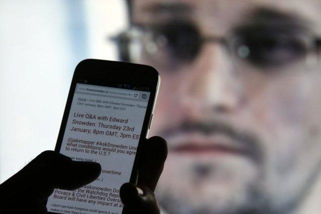 Jeudi, Edward Snowdenavait récusé toute idée de retourner... (PHOTO DADO RUVIC, REUTERS)