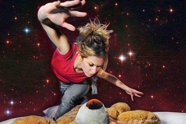 Dans le spectacle de danse Ô lit, la... (Photo: Rolline Lapointe)