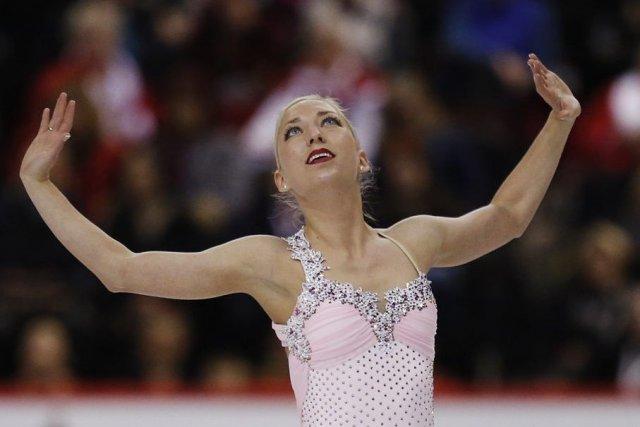 Amélie Lacoste a terminé en 12e place du... (Photo Chris Wattie, archives Reuters)