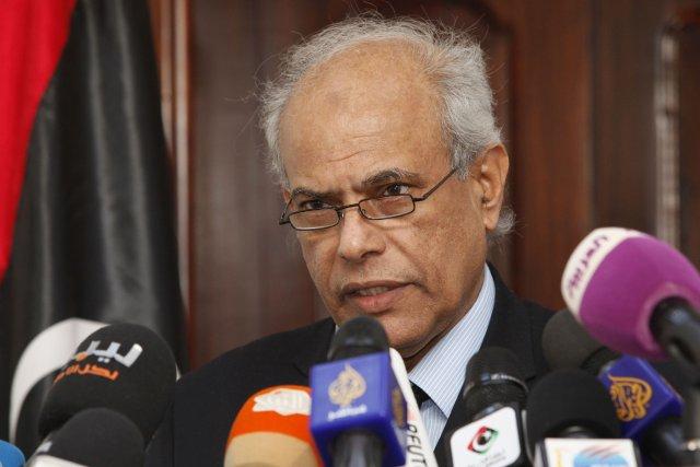 Le ministre libyen de la Justice, Salah al-Marghani... (Photo Ismail Zitouny, Reuters)