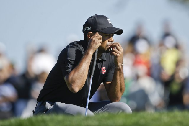 Tiger Woods... (Photo Lenny Ignelzi, AP)